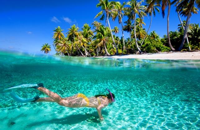 divers in fiji-triplisters